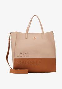 Desigual - BOLS RHAPSODY MERLO - Handbag - crudo v - 1