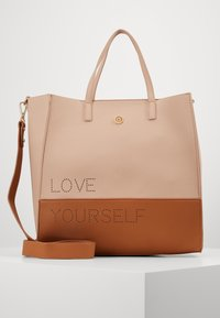 Desigual - BOLS RHAPSODY MERLO - Handbag - crudo v - 0