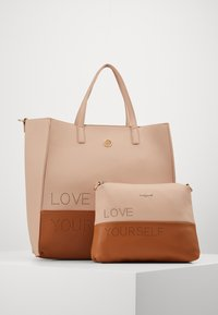 Desigual - BOLS RHAPSODY MERLO - Handbag - crudo v - 4