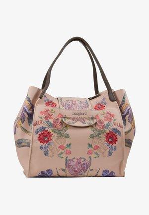 PRINT ZARIA - Handbag - rosa vento