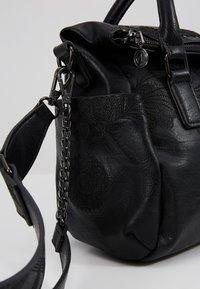 Desigual - MELODY LOVERTY - Shopping bag - black - 7