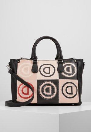 LOGO PATCH SAFI - Käsilaukku - rose