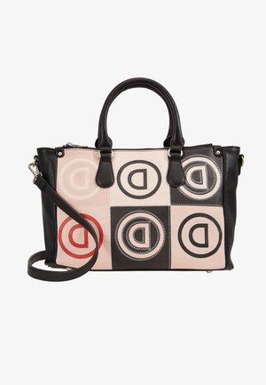 LOGO PATCH SAFI - Bolso de mano - rose