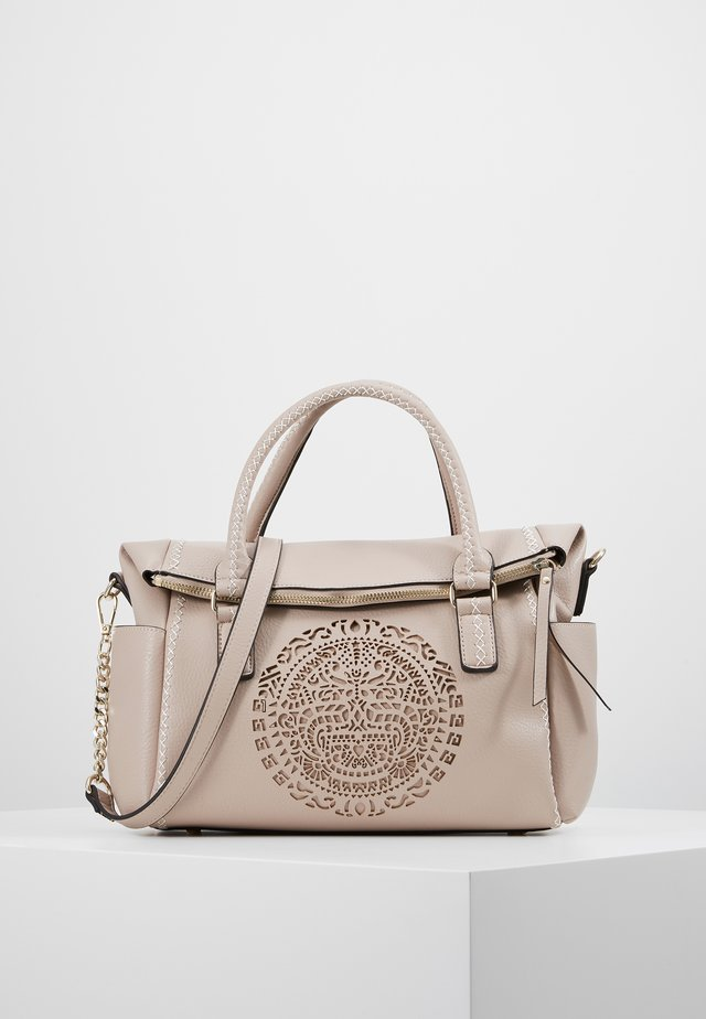 TRIBAL LOVERTY - Kabelka - crudo beige