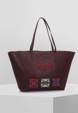 BOLS BOLD - Shopping bag - burgundy