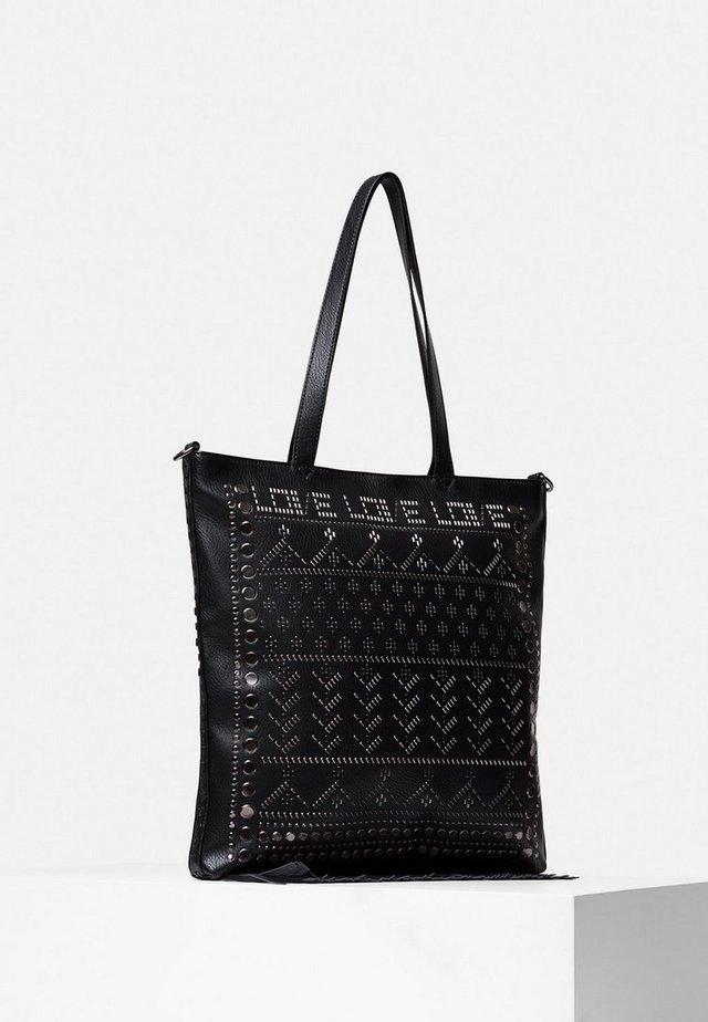 CORO - Bolso shopping - black