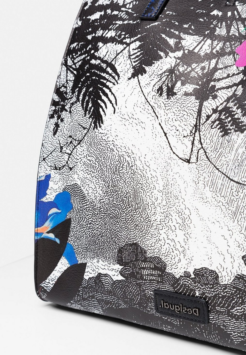 Desigual Designed By Christian Lacroix - Torba Na Zakupy White