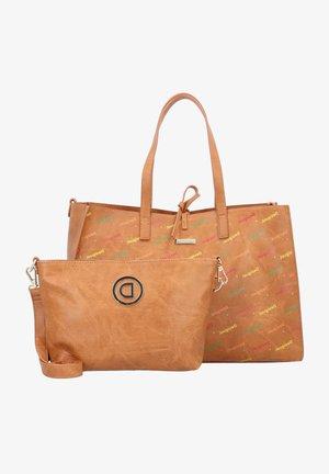INTRA MERLO - Tote bag - camel
