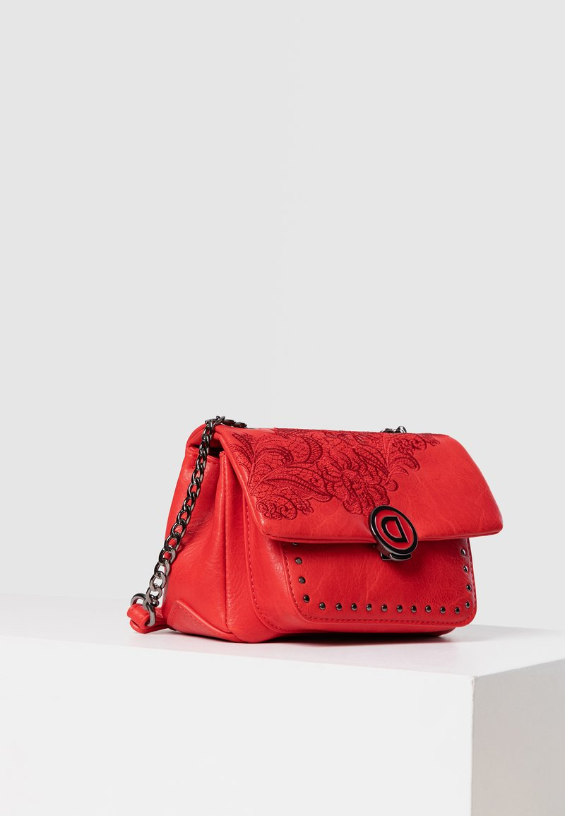 Desigual - Schoudertas - red