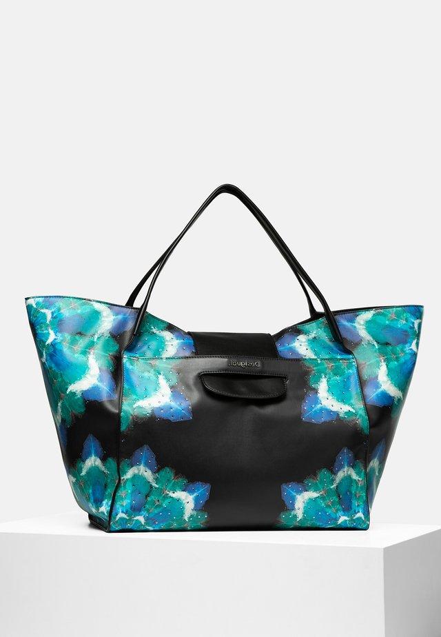 BOLS_WATERFALL ZARIA MEDIUM - Shopping bag - black