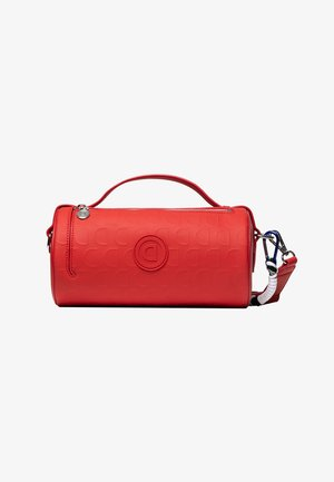 BOLS_LAZARUS_BARREL - Handbag - red
