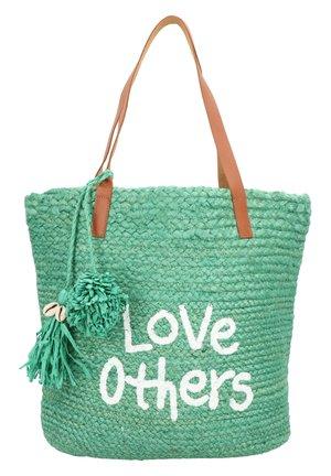MESSAGE NEW SHAPE SCHULTERTASCHE 41 CM - Tote bag - verde selva