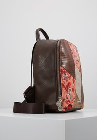 Desigual - BACK JAPAN PATCH NAZCA MINI - Rucksack - marron - 3