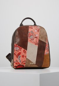 Desigual - BACK JAPAN PATCH NAZCA MINI - Rucksack - marron - 0