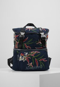 Desigual - BACK FLOWER SEA EVEREST - Reppu - navy - 0