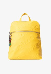 Desigual - BACK_NEW COLORAMA NANAIMO - Rucksack - yellow - 2