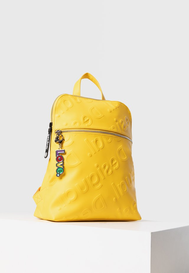 BACK_NEW COLORAMA NANAIMO - Zaino - yellow