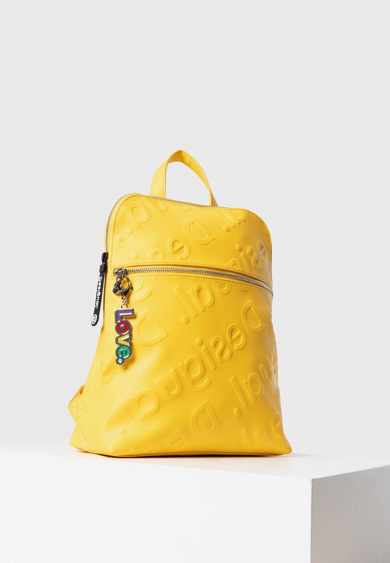 Desigual - BACK_NEW COLORAMA NANAIMO - Rucksack - yellow