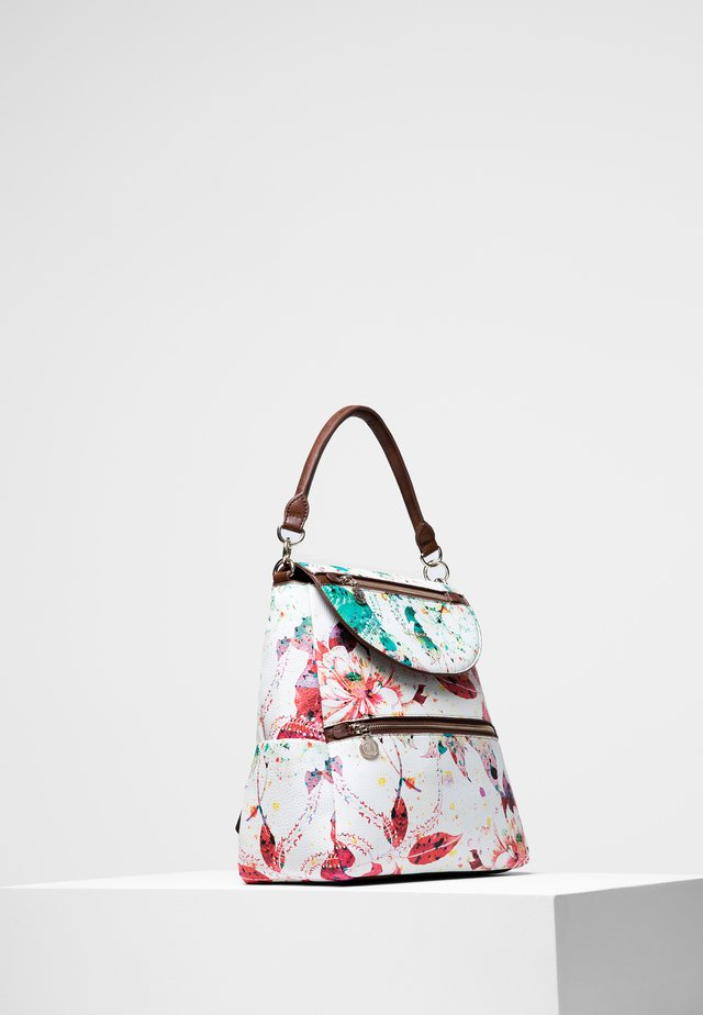 REP_BACK SPRING FLOWERS POSITANO - Backpack - white