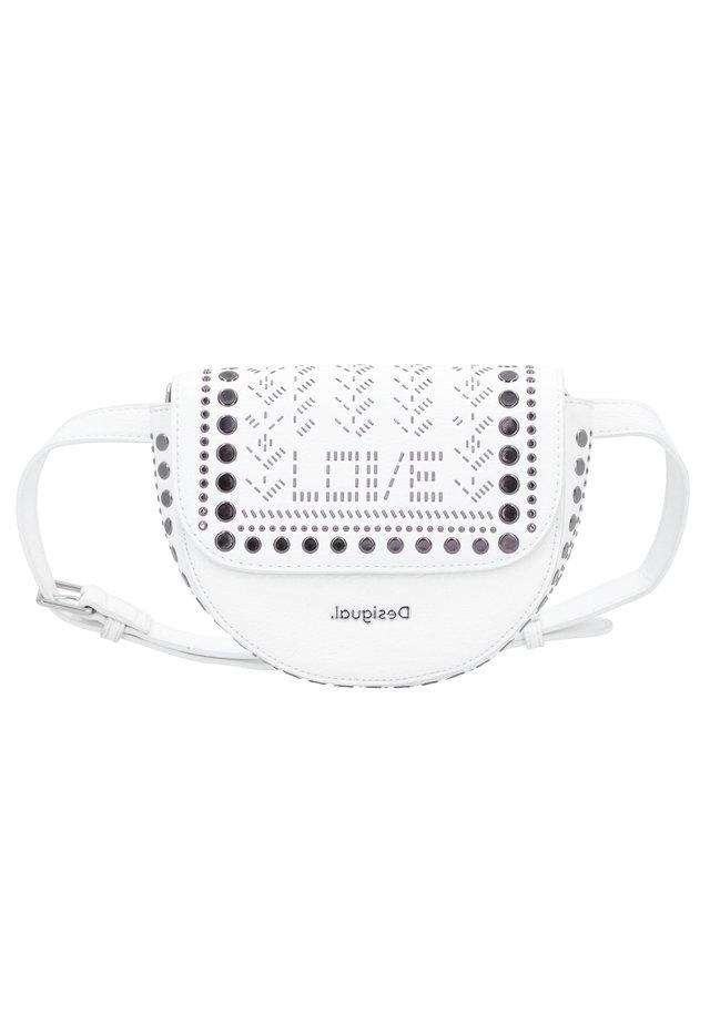 AZABACHE  - Bum bag - blanco