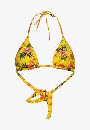 BIKI_FLORIDA - Bikini pezzo sopra - yellow