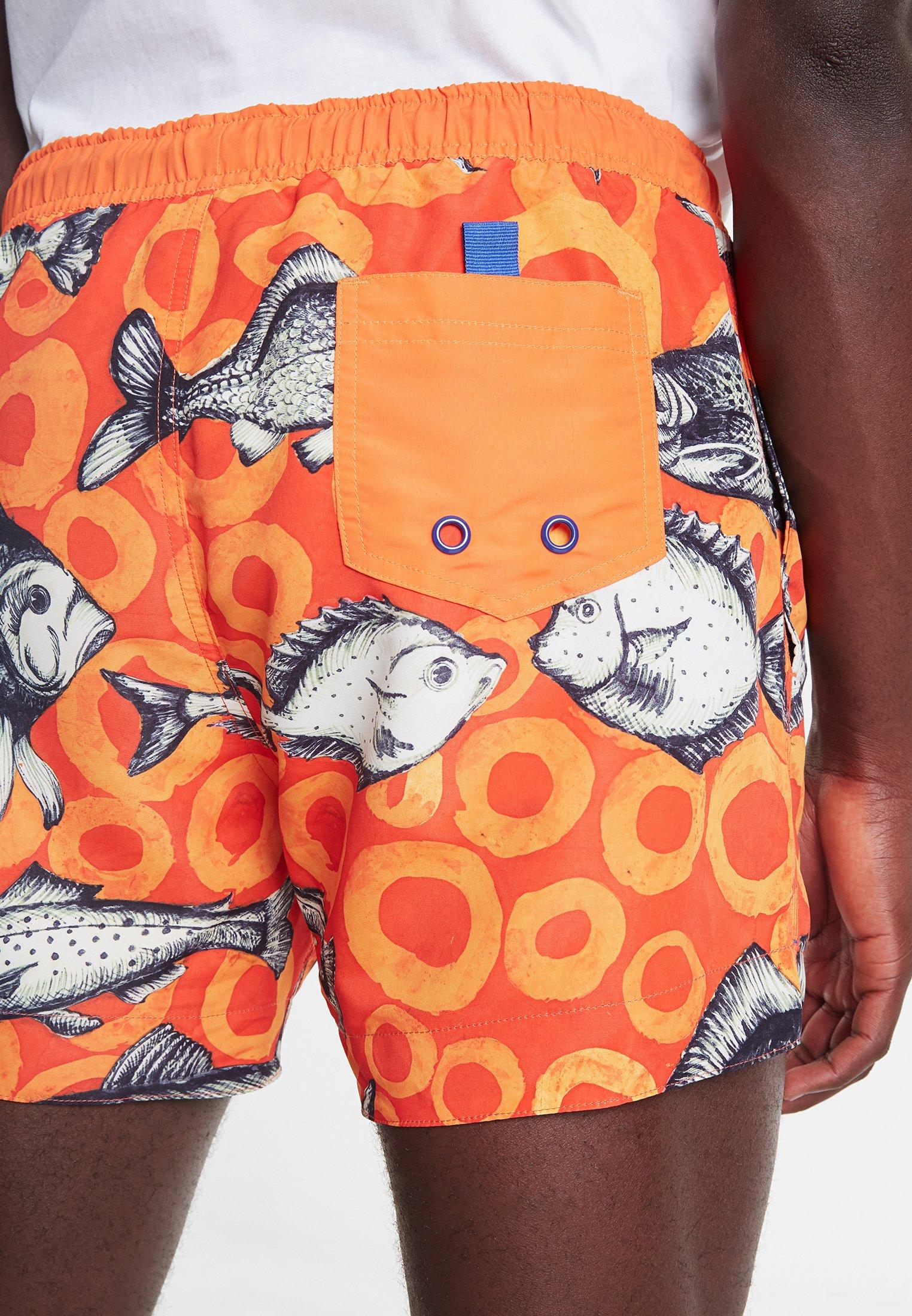 Desigual Shorts Da Mare - Orange EkhneQB