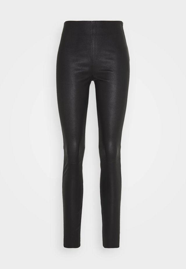 STRETCH - Trousers - black