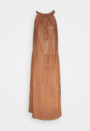 LONG DRESS - Robe d'été - tobacco