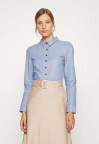 DEPECHE - BUTTONS - Camicia - shady blue - 0