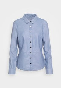 DEPECHE - BUTTONS - Camicia - shady blue - 4