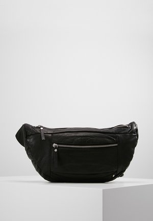 FASHION FAVOURITES LARGE BUM BAG - Ledvinka - black