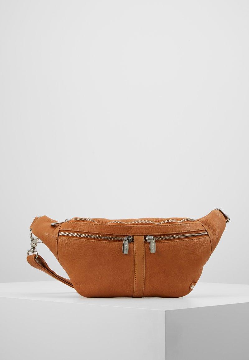 DEPECHE - BUM BAG - Bum bag - cognac