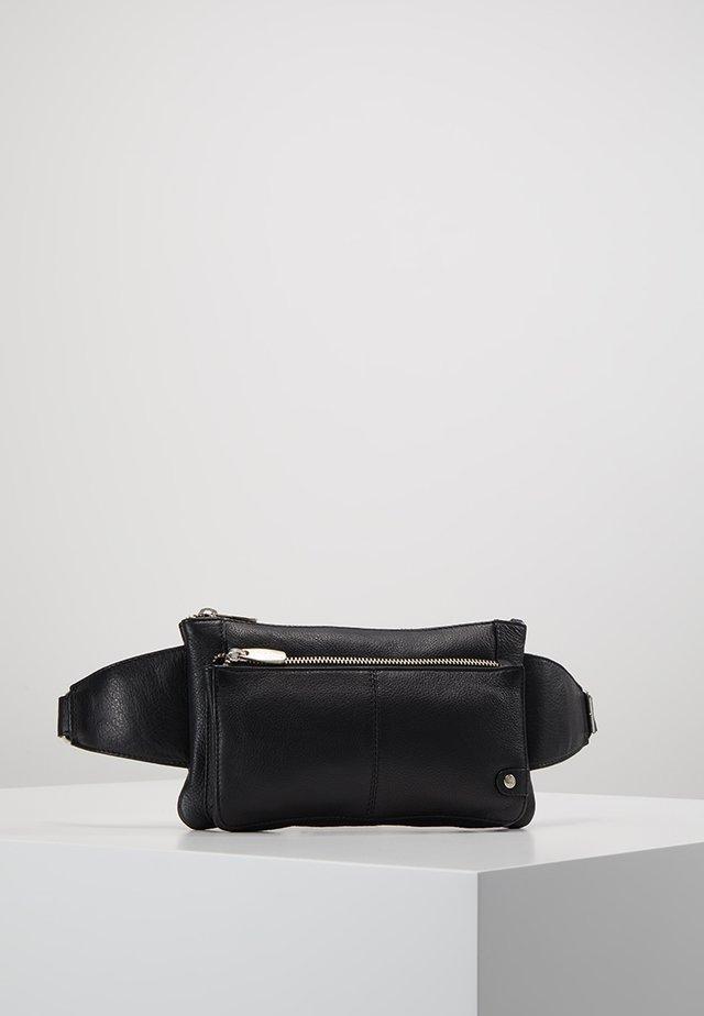 FASHION FAVORITES BUMBAG SQUARE SHAPE - Bum bag - black