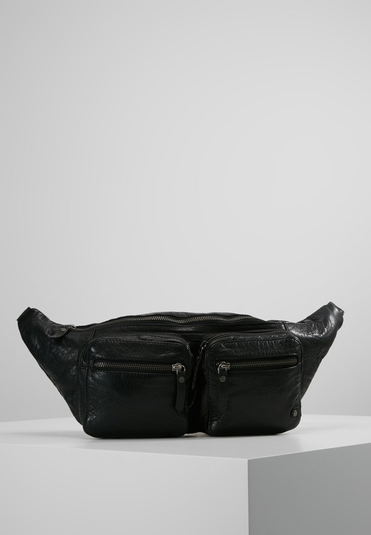 DEPECHE - BUMBAG - Bum bag - black
