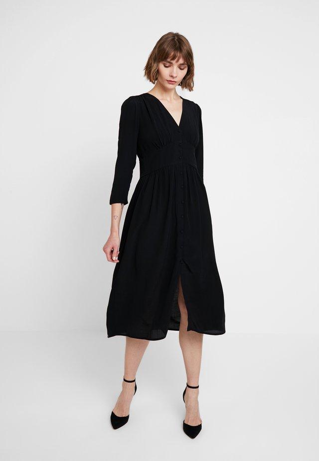 CECILY DRESS - Maxikleid - black