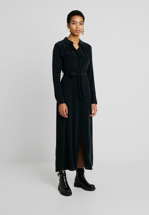 HYOKO DRESS - Košilové šaty - true black
