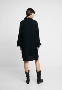 Denham - SYLVIE DRESS - Robe chemise - black - 3
