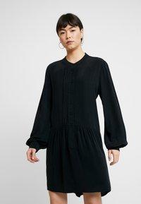Denham - SYLVIE DRESS - Robe chemise - black - 0