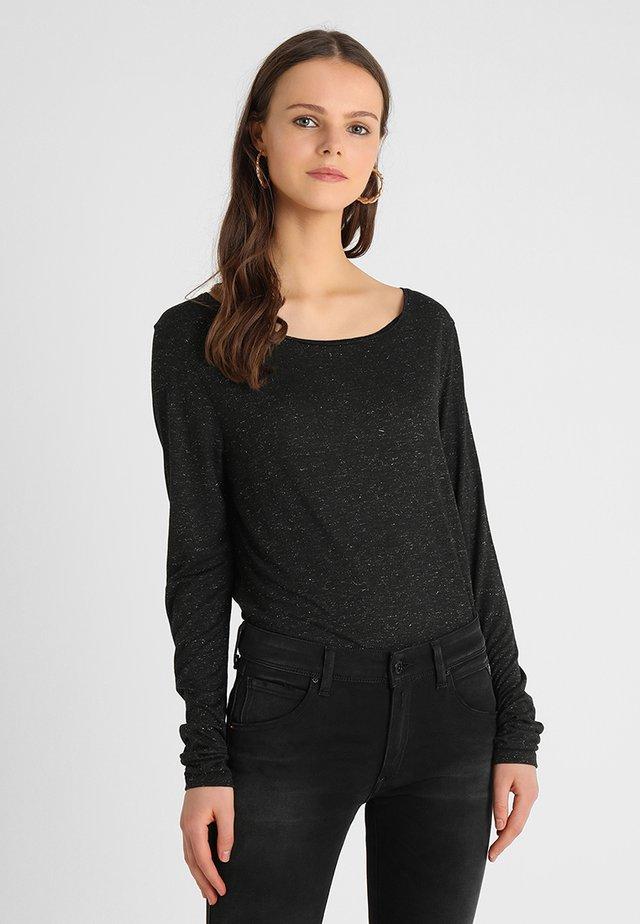 MARINE - Langarmshirt - shadow black