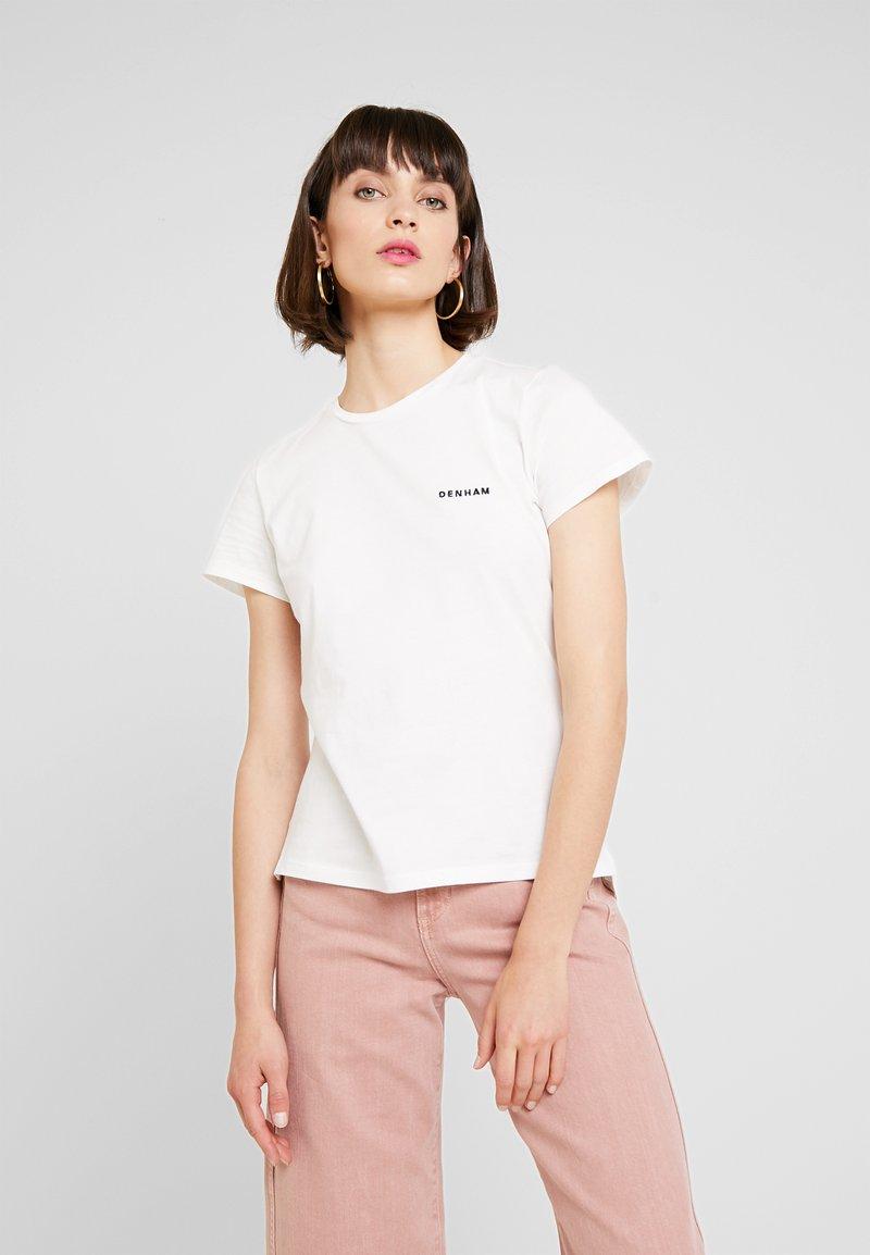 Denham - MINI ARROW TEE - T-Shirt print - off white