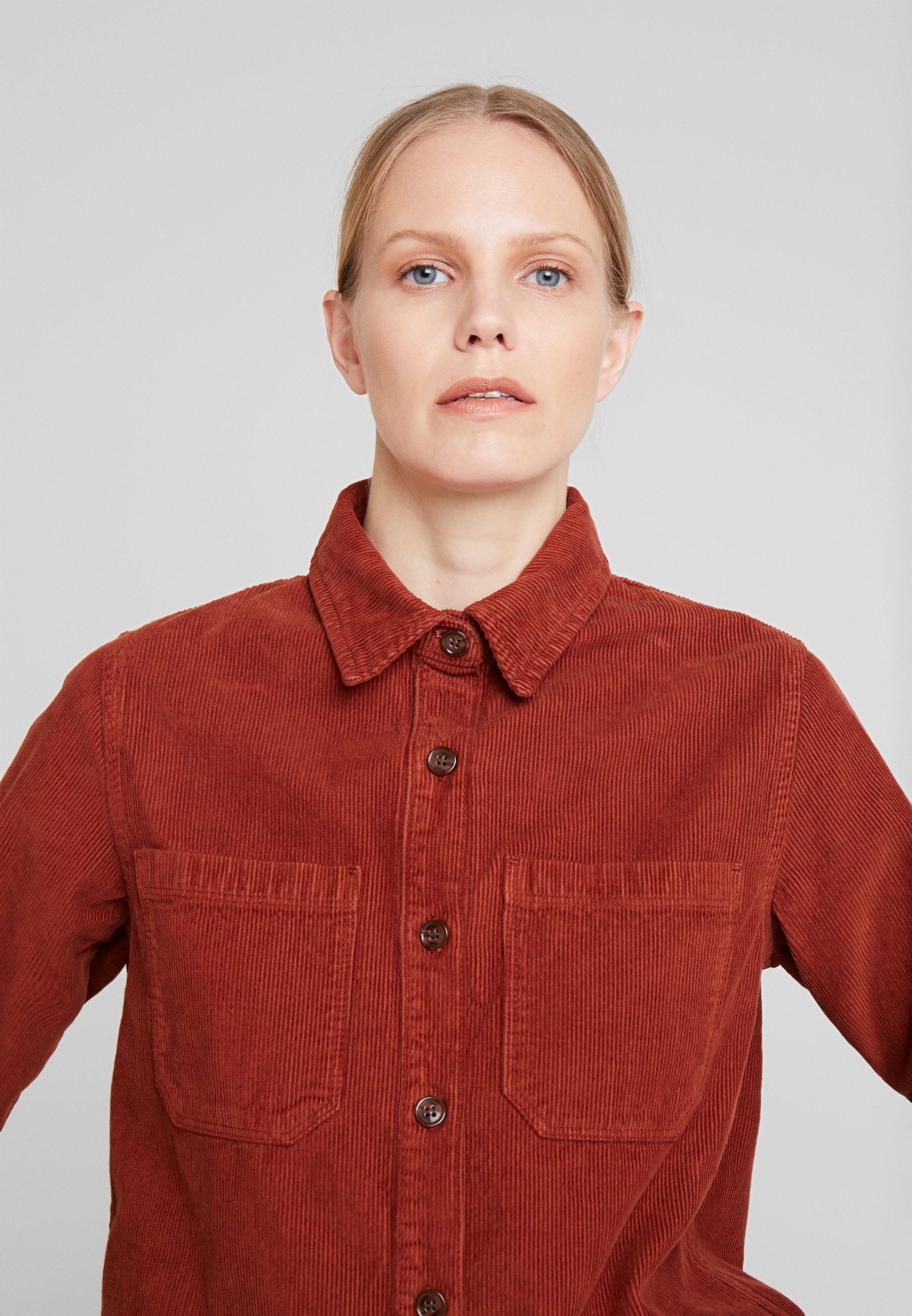 Denham ONUMA - Button-down blouse - cognac