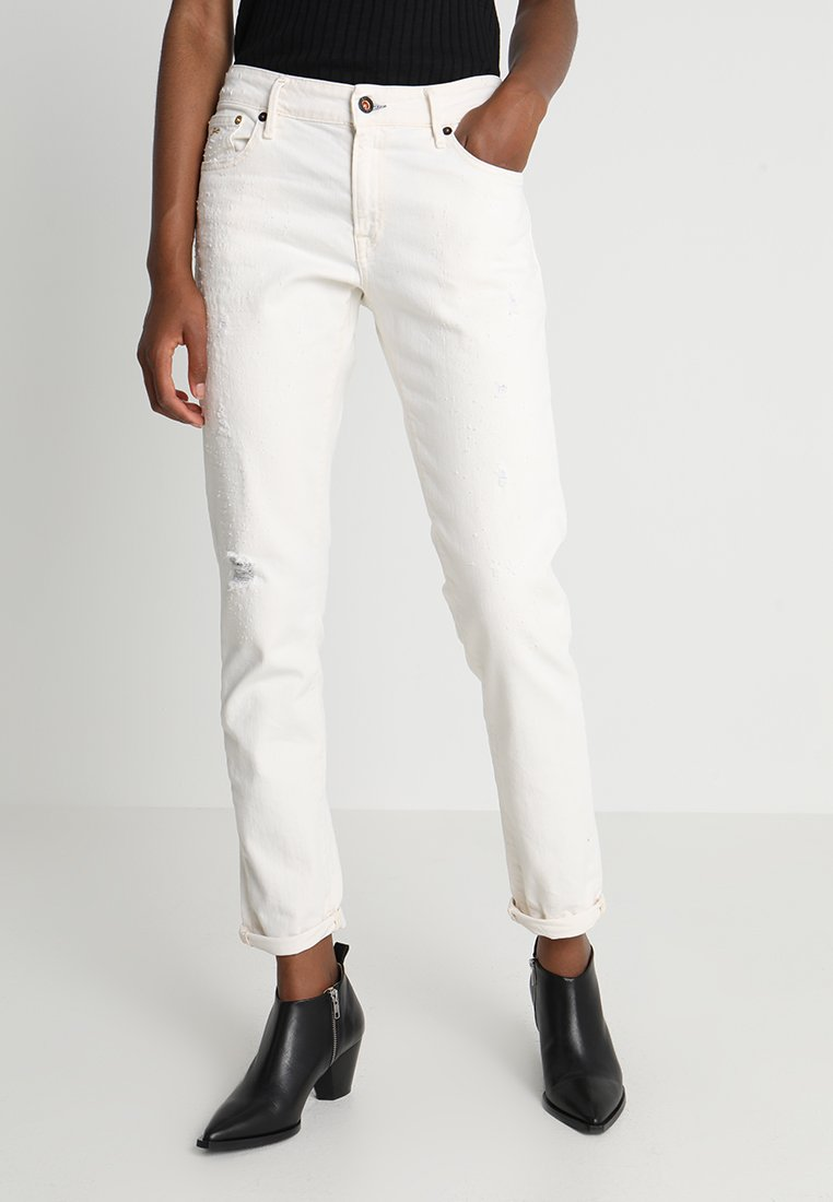 Denham - MONROE - Relaxed fit jeans - white denim