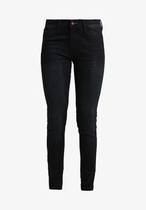 SPRAY - Jean slim - blue/black denim