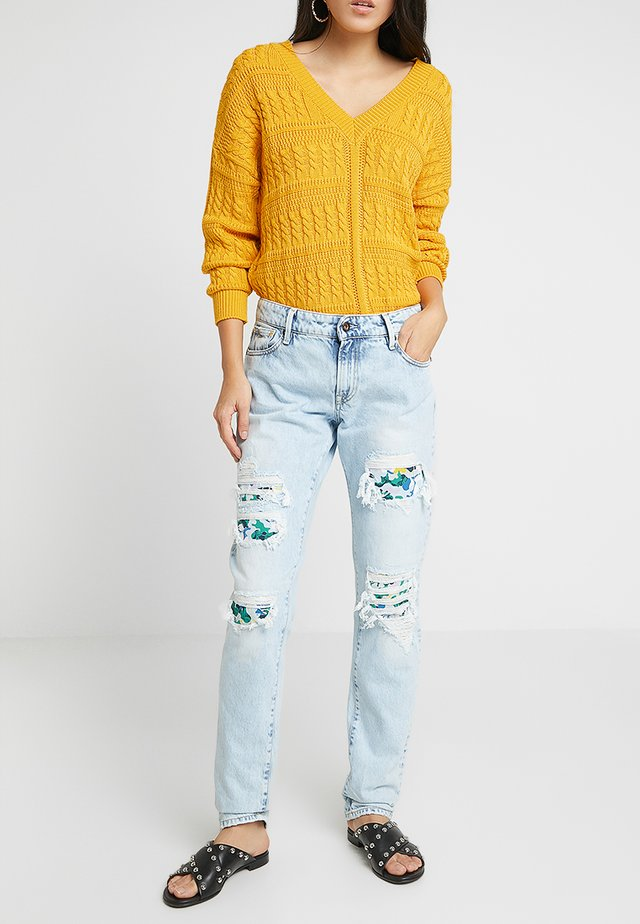 MONROE - Jeans Relaxed Fit - destroyed denim