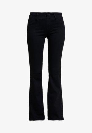 FARRAH - Bootcut jeans - black denim
