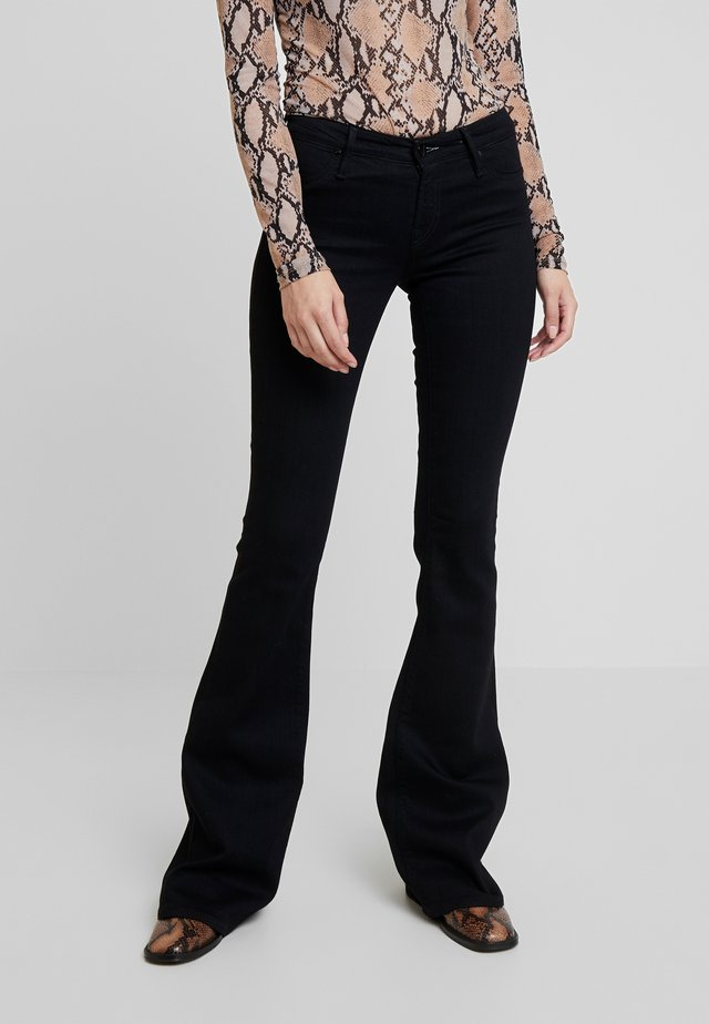 FARRAH - Jeans bootcut - black denim