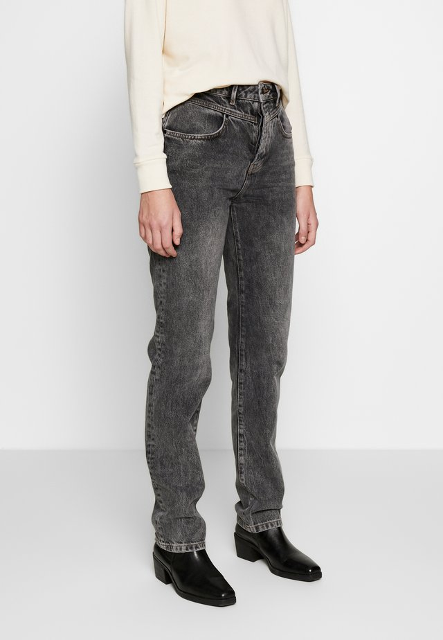 SHARI - Jeans Straight Leg - black