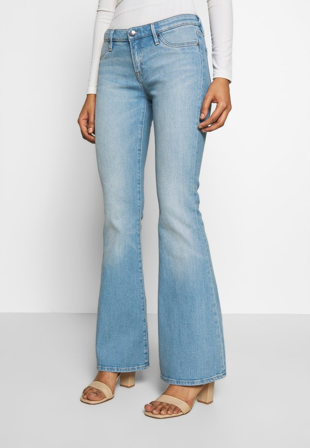 FARRAH MIAMI - Flared jeans - blue
