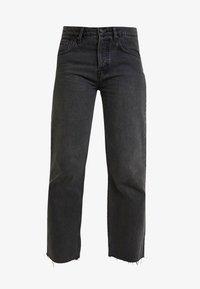 Denham - MADISON - Jean droit - washed black - 3