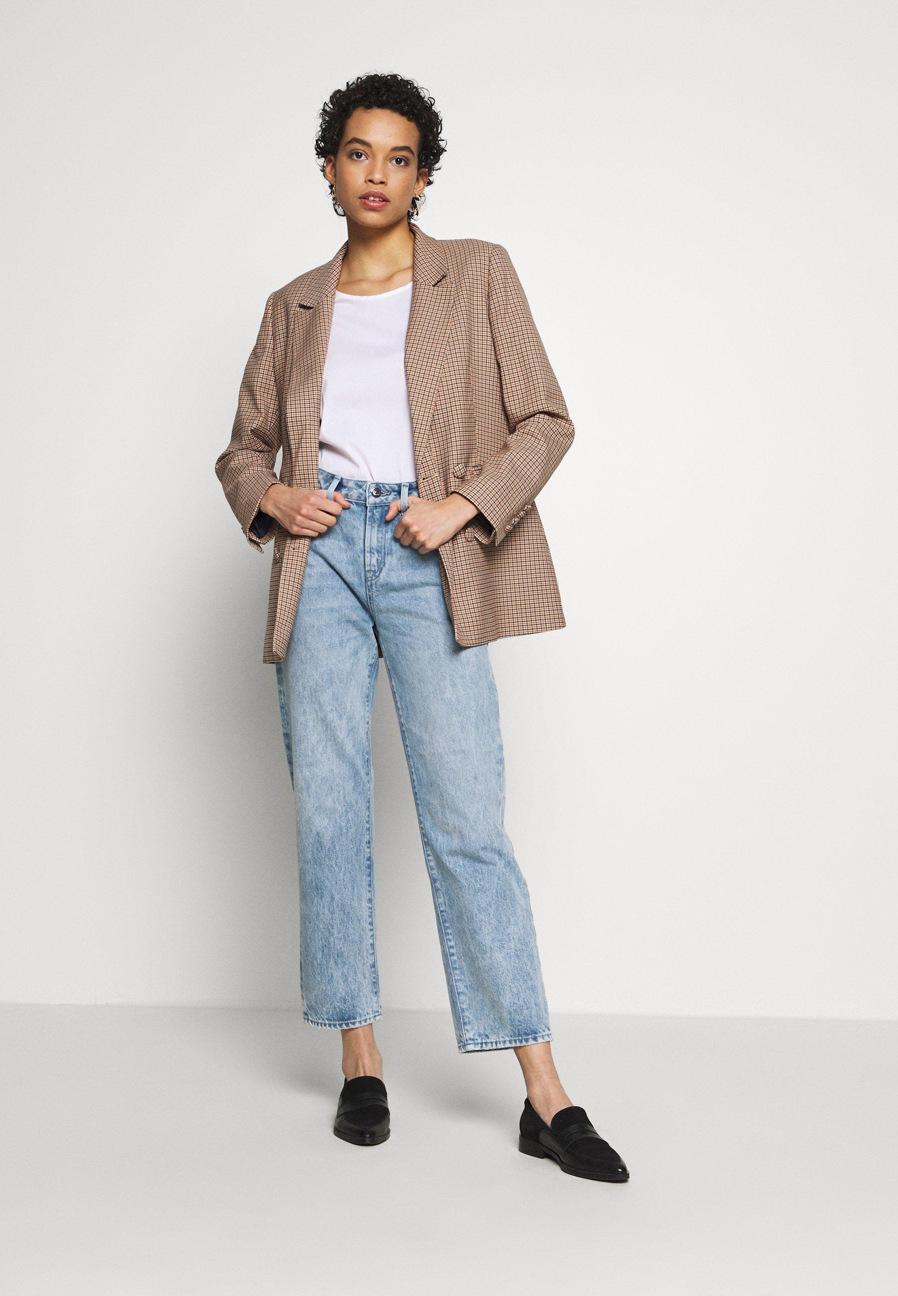 Denham Bardot Highwaist Straight Fit Millsboro - Jeans Leg Blue Black Friday